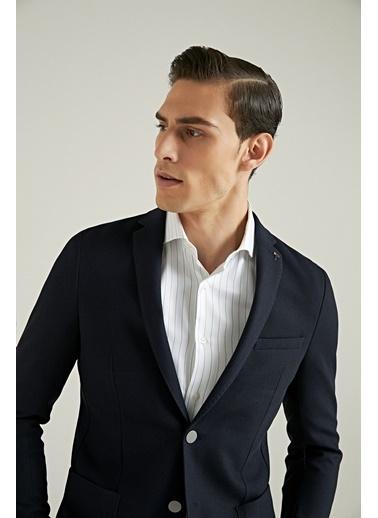 Tween Slim Fit Kumaş Ceket Lacivert
